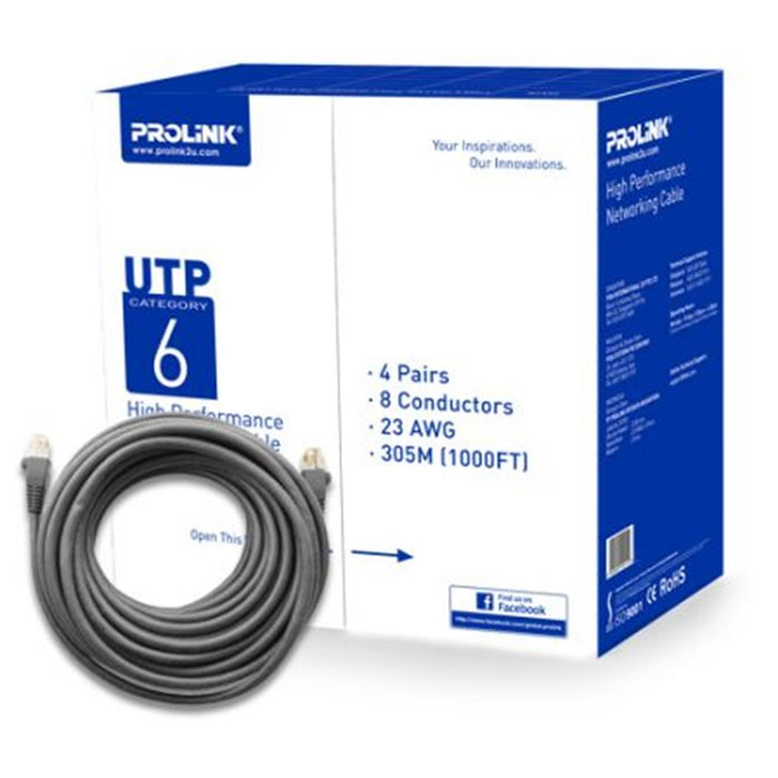 Prolink Cat6 UTP LAN Cable 305Meter