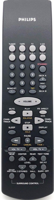 Genuine Audio AV Receiver Remote Control RC8080/01 Philip CD