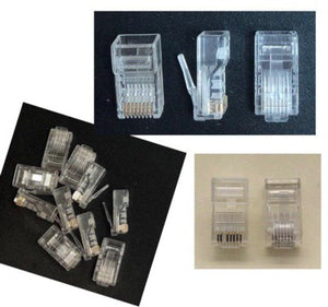 Cat6 RJ45 Connector 8p/8c Cat6 Con OEM
