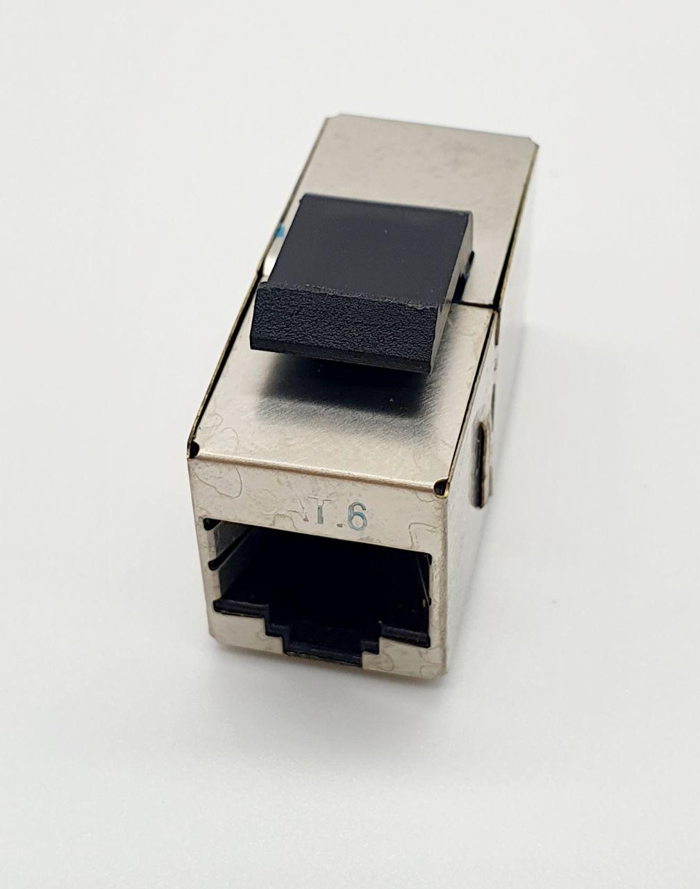 Rj45 Connector Coupler Female To Female Metal Housing