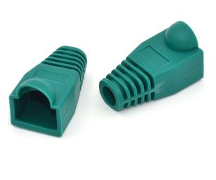 Protective Cover For Rj45 Green 10Pcs Per Pack