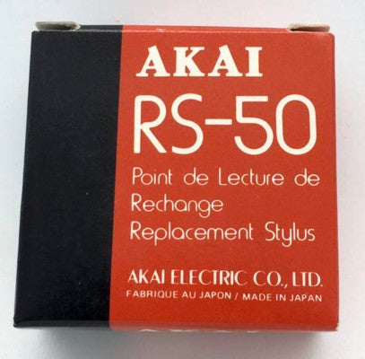Audio Turntable Original Stylus / Needle RS50 Akai