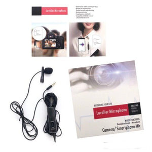 Lavalier Camera, Smartphone Microphone R955S