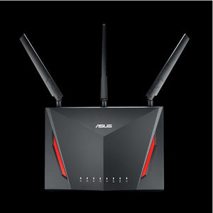 Asus RT-AC86U AC2900 Dual Band Gigabit Wi-Fi Gaming Router with MU-MIMO, Aimesh for mesh Wi-Fi system