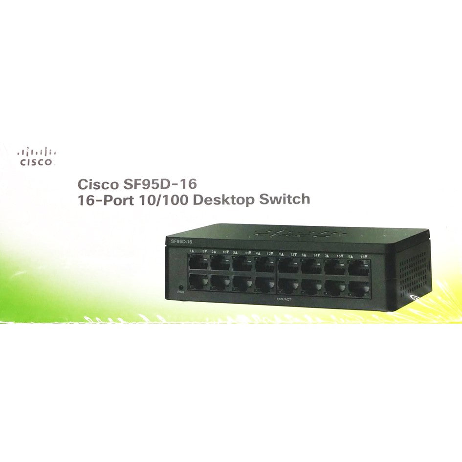 Cisco SF95D-16 16-Port 10/100 Desktop Switch