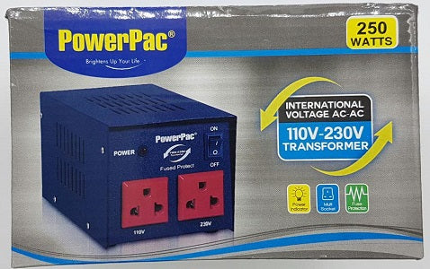 Powerpac AC110~230V Transformer 250Watts St250