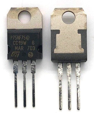 N-Channel Power Mosfet STP75NF75 TO220-3M STM