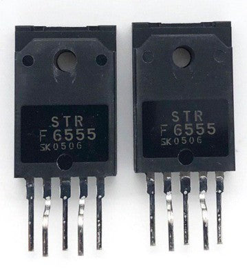 TV IC Power Switching Regulator STRF6555 Zip5 Sanken
