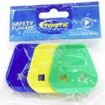 Powerpac Safety Plug 3to2 Pin Key (3pcs pack)