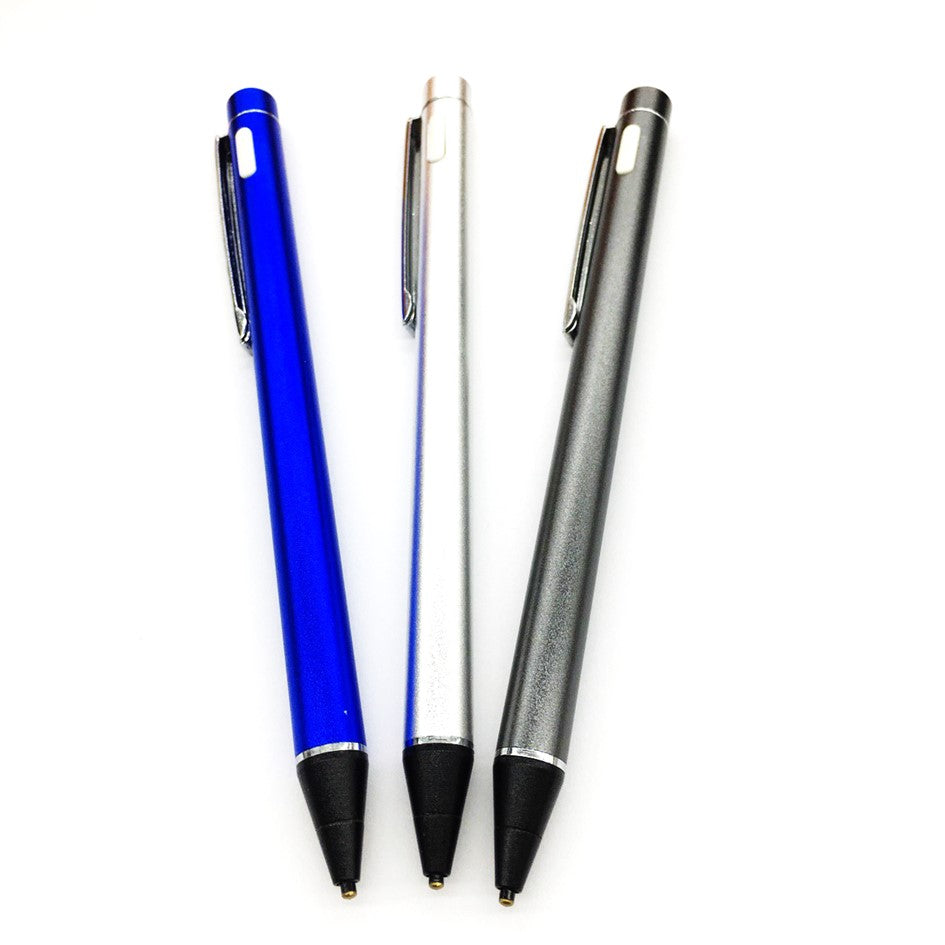 Active Stylus for Ipad Iphone Samsung Huawei 2.0mm Superfine Nibs High Sensitivity Blue/Grey/Silver