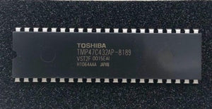 Color TV Controller IC TMP47C432AP-8189 Toshiba / Philip TV