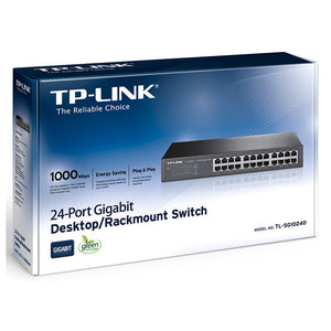 TP-Link TL-SG1024D 24-Port Gigabit Desktop Rackmount Switch