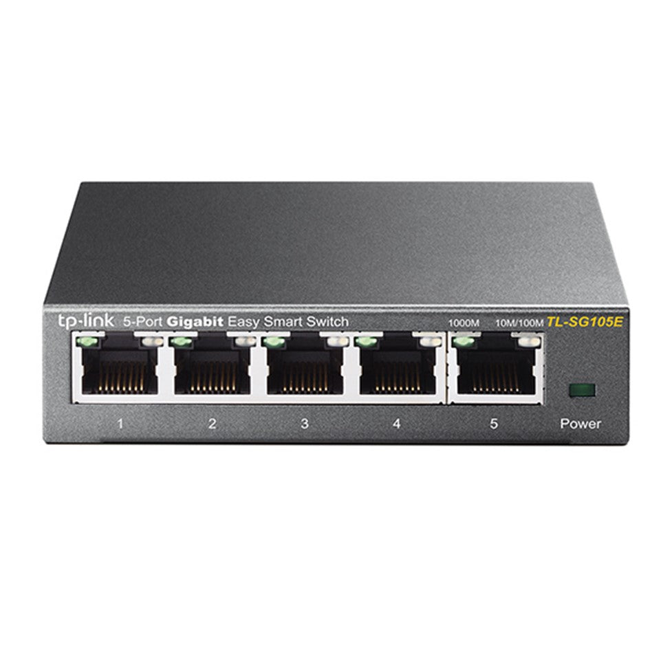 Tplink TL-SG105E 5-Port Gigabit Easy Smart Switch