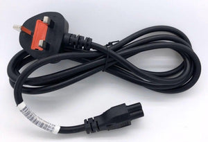 Power Cord 3Pin UK to C5 (Notebook) 1.8Meter with Safety Approved Mark Unirise