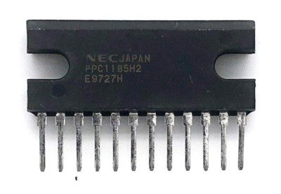 Audio Amplifier IC UPC1185H2 Sip12Nec Appl: TV/Car Audio
