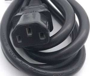 Power Cord US 3Pin to C13 1.8Meter