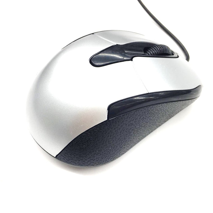 OEM Wired USB Optical Mouse YR3004 Silver