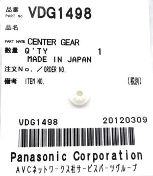 Camcorder Center Gear VDG1498  Panasonic