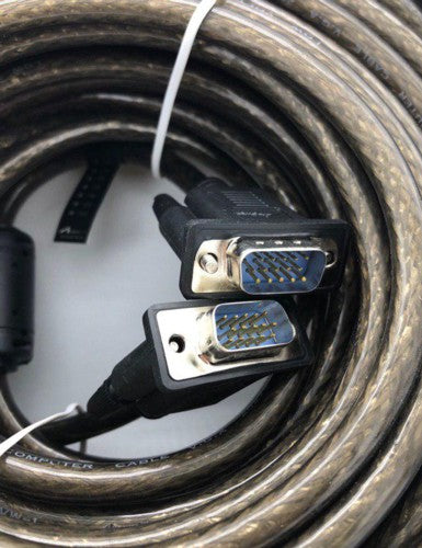 VGA to VGA Cable 30M  - Male/Male (Filter Coiled) DV30