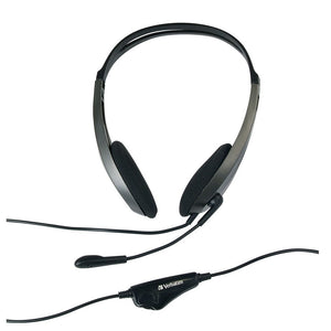 Verbatim Urban Headgear Multimedia Headset with Mic & Volume Control P/N: 41646