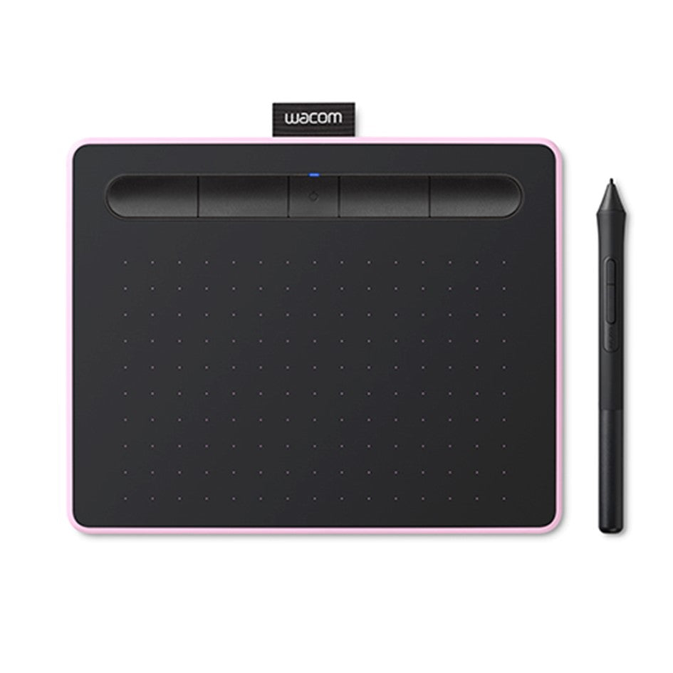 Wacom Intuos M with Bluetooth Berry ( CTL-6100WL/P0-CX) Drawing Tablet with 3 Free Creative software downloads