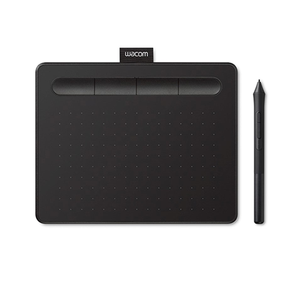 Wacom Intuos M with Bluetooth Black( CTL-6100WL/K0-CX) Drawing Tablet with 3 Free Creative software downloads