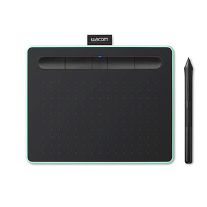 Wacom Intuos M with Bluetooth Pistachio ( CTL-6100WL/E0-CX) Drawing Tablet with 3 Free Creative software downloads