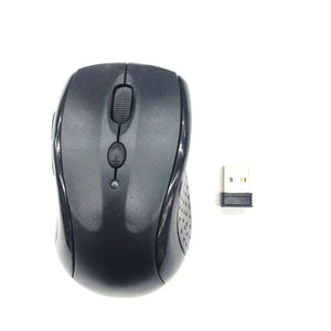 OEM Wireless Mouse 2.4Ghz YR802 Black (Up to 10 Meter Range)