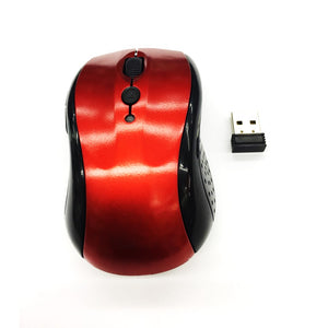 Wireless Mouse YR802 Red 2.4 Ghz Up to 10 Meter Range