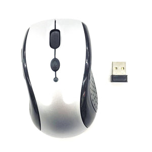 Wireless Mouse 2.4Ghz YR-802 Silver up to 10 Meter Range