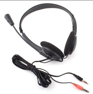 Headset With Microphone 2x3.5mm audio plug XTY-26