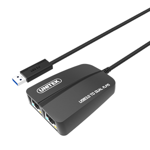 Unitek Y3463 Usb3 To Dual Gigabit Ethernet Converter