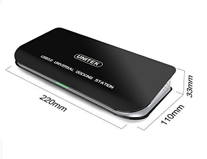 Unitek Usb3 Universal Docking Station With Dual Video Outputs Y3704