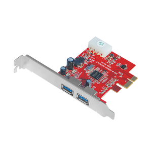 Unitek Y7301 Card Pci-E To Usb3.0- 2Port (Nec Chipset)