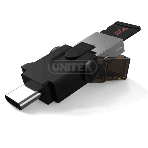 Unitek Y9320 Usb3.0 Type C Micro Sd Card Reader