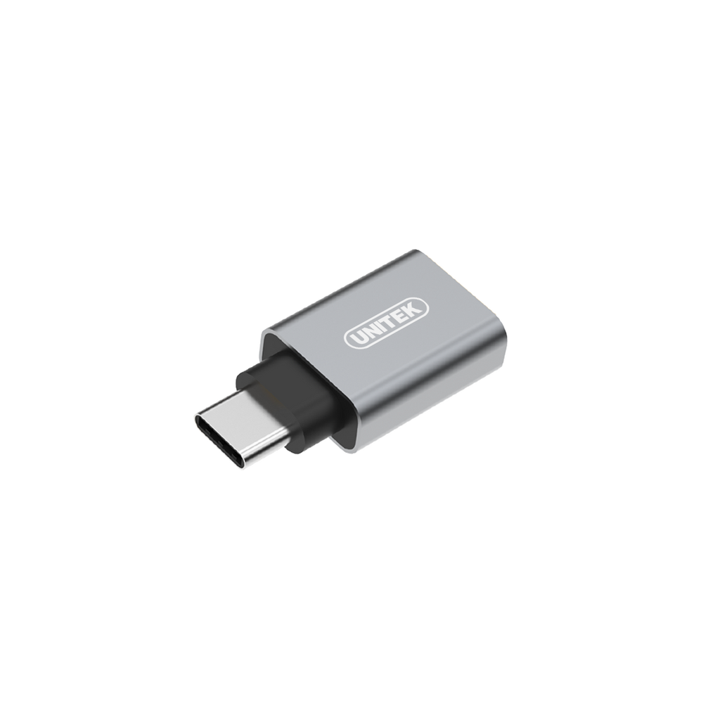 Unitek Ya025Cgy Usb3.1 Type C To Usb A Female Adaptor