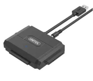 "Unitek Y3324 USB3 To Ide+Sata II  Converter (Suitable for 2.5""/3.5"" HDD with any Capacity)"