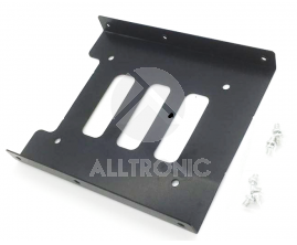 "Bracket for HDD/SSD 2 .5"" to 3.5"" Metal - Black"