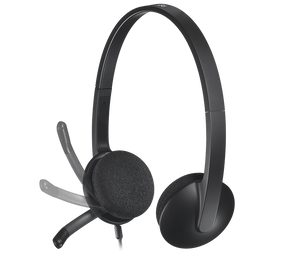 Logitech H340 USB Headset with Noice Cancelling Mic