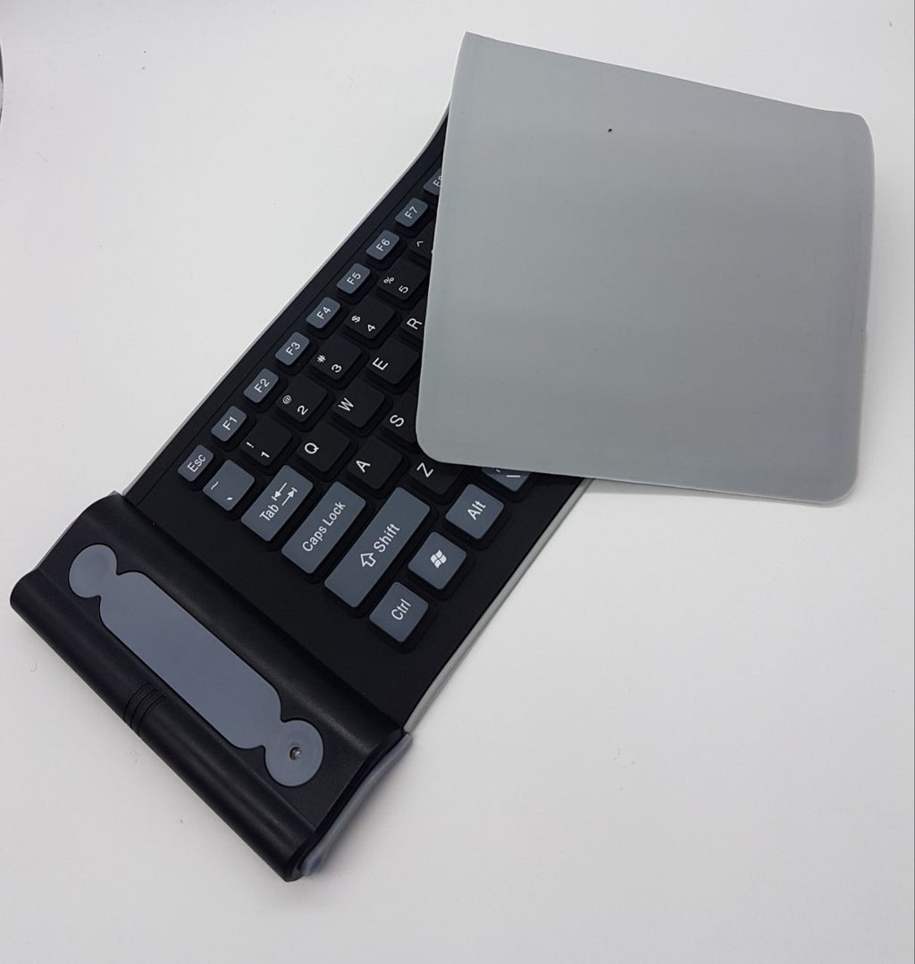 2.4G Wireless Flexible Silicon Keyboard Portable foldable