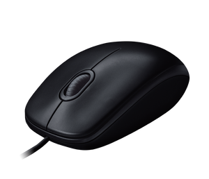 Logitech Wired USB Optical Mouse M100R Black