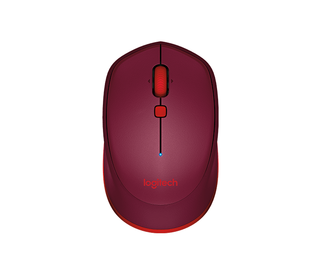 Logitech M337 Bluetooth Mouse Red / Black