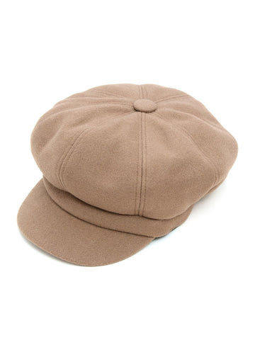 Tan Baker Boy Hat