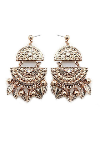 Gold Tribal Dangles