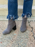 Fringe Jeans with Silver Chains