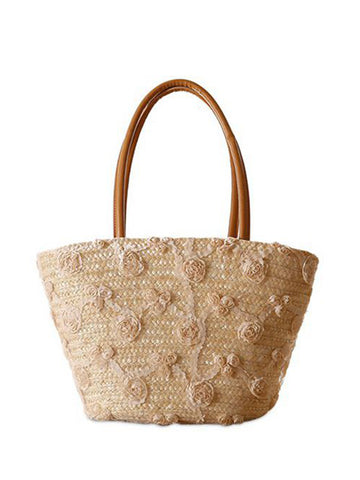Sweet Woven Beach Bag