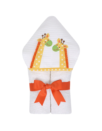 Yellow Jolly Giraffe Everykid Towel