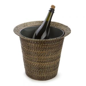 Wine and Champagne Cooler With Galvanized Bucket