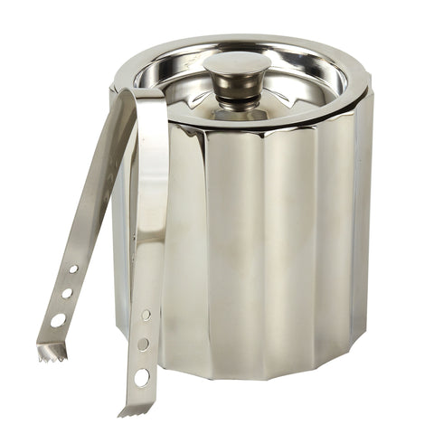 Brandywine Ice Bucket w/ Tongs