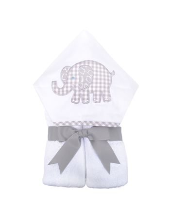 Grey Elephant Everyday Kid Towel